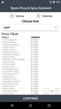 Byens Pizza & Spicy Sandwich screenshot 2