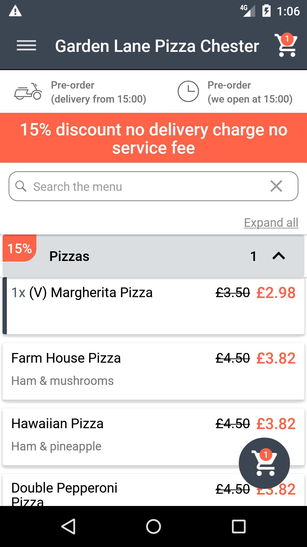Garden Lane Pizza Chester For Android Apk Download