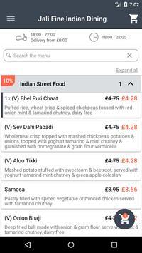 Jali Fine Indian Dining screenshot 1