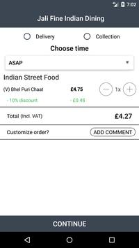 Jali Fine Indian Dining screenshot 2