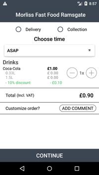 Morliss Fast Food Ramsgate screenshot 2