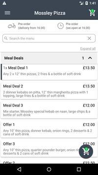 Mossley Pizza screenshot 1