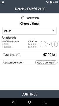 Nordisk Falafel 2100 screenshot 2