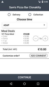 Sam's Pizza Bar Clonakilty screenshot 2