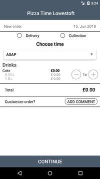 Pizza Time Lowestoft screenshot 1