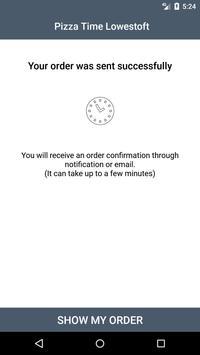 Pizza Time Lowestoft screenshot 2