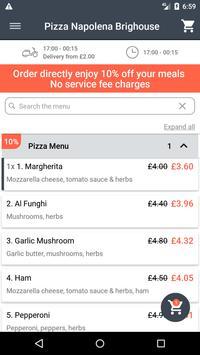 Pizza Napolena Brighouse screenshot 1
