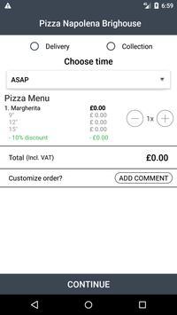 Pizza Napolena Brighouse screenshot 2