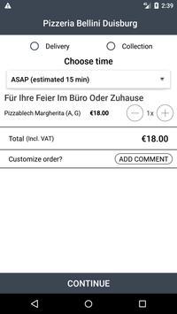 Pizzeria Bellini Duisburg screenshot 2