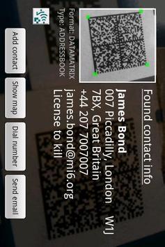 ixMAT Barcode Scanner screenshot 1