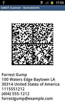 ixMAT Barcode Scanner screenshot 4