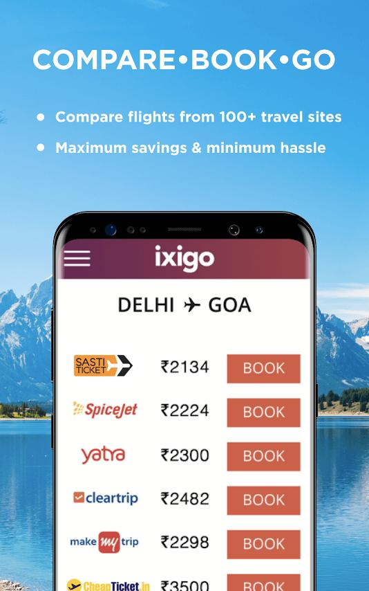 Flight, Hotel & Bus Booking App - ixigo for Android - APK Download