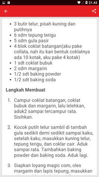 Resep Kue Coklat Pilihan screenshot 2