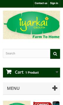 iyarkai.co (Farm To Home) poster