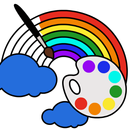 儿童着色游戏 - 婴儿画册,着色页:绘画和颜色🎨 APK