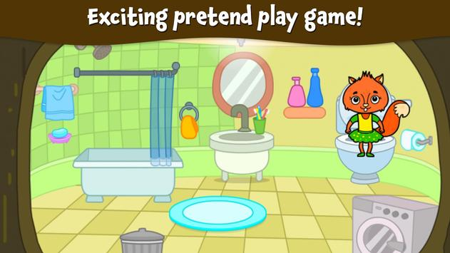 Animal Town - My Squirrel Home for Kids & Toddlers screenshot 6