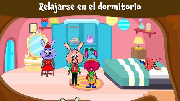 Ciudad Animal: Casa Ardilla para niños captura de pantalla 4
