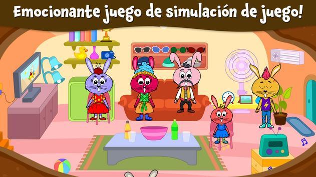 Ciudad Animal: Casa Ardilla para niños captura de pantalla 20