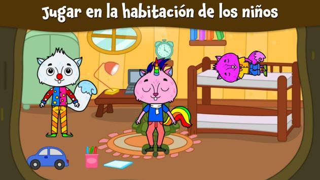 Ciudad Animal: Casa Ardilla para niños captura de pantalla 3