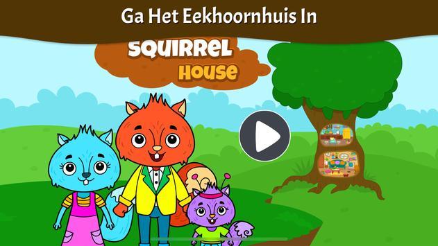 Dieren Stad - Mijn Eekhoornhuis voor Kinderen screenshot 7