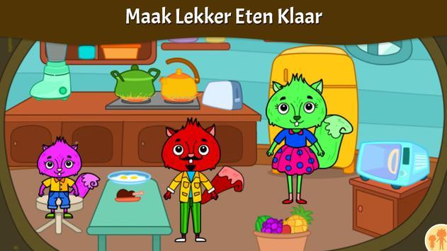 Dieren Stad - Mijn Eekhoornhuis voor Kinderen screenshot 9