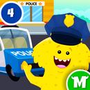 我的怪兽城镇 - 儿童警察局游戏 APK
