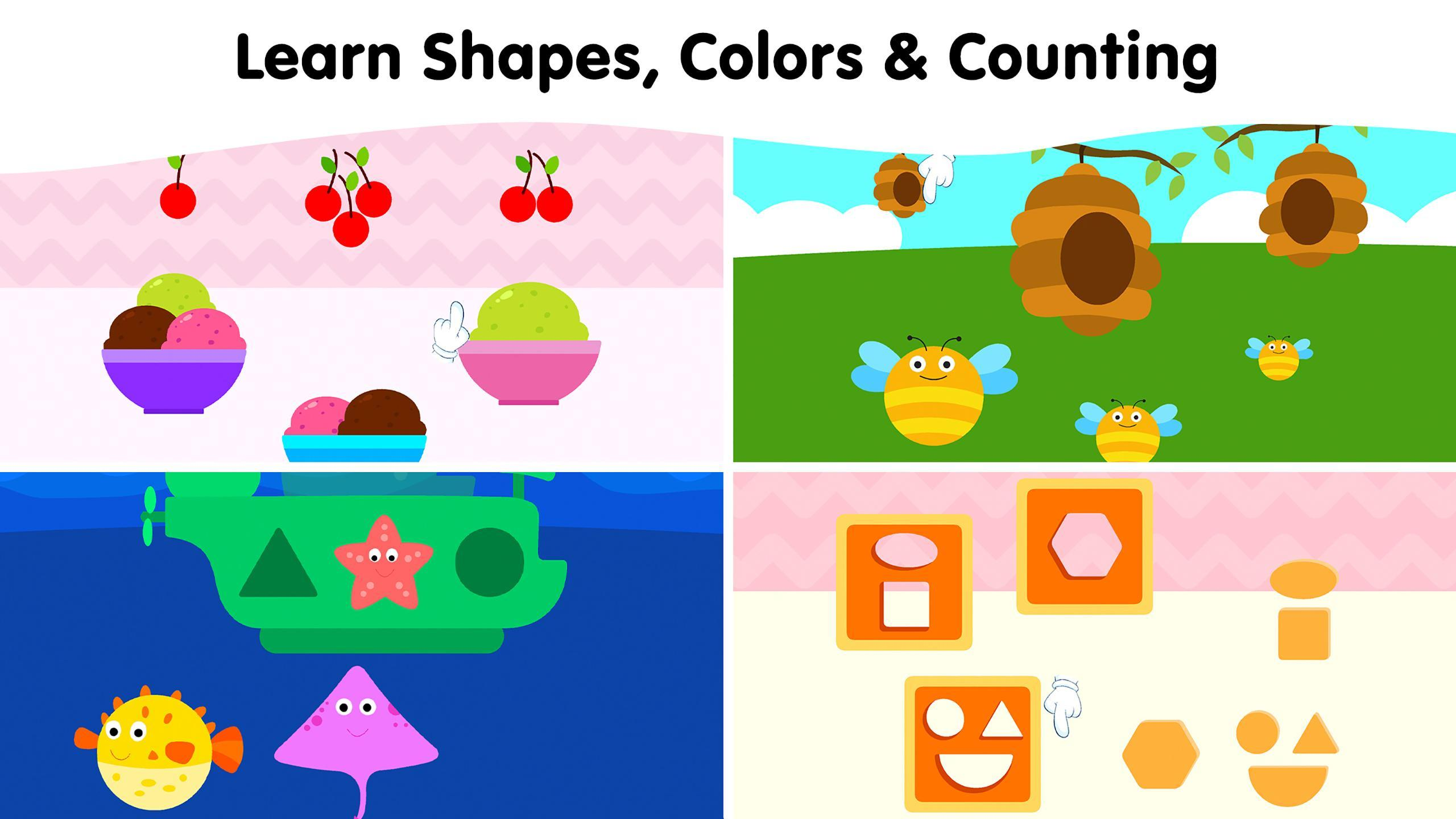 Toddler Learning Games For Kids 2 3 4 Year Olds For Android Apk Download