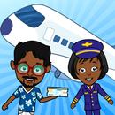 蒂齐机场:我的儿童飞机游戏 APK