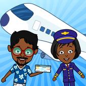 Aeropuerto de Tizi: Juegos de aviones para niños icono