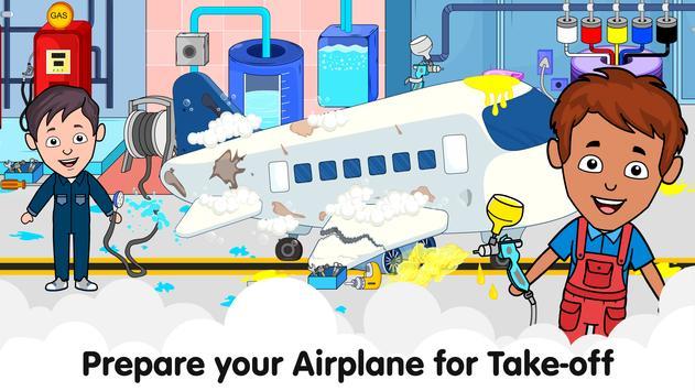 Aeropuerto de Tizi: Juegos de aviones para niños captura de pantalla 6