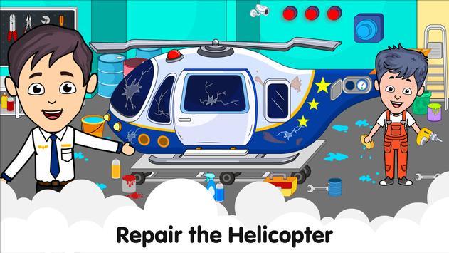Aeropuerto de Tizi: Juegos de aviones para niños captura de pantalla 12