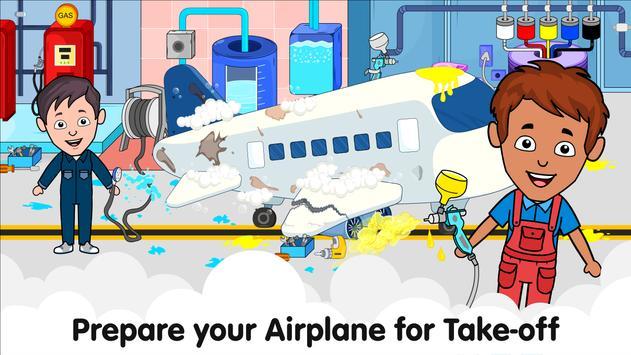 Aeropuerto de Tizi: Juegos de aviones para niños captura de pantalla 14