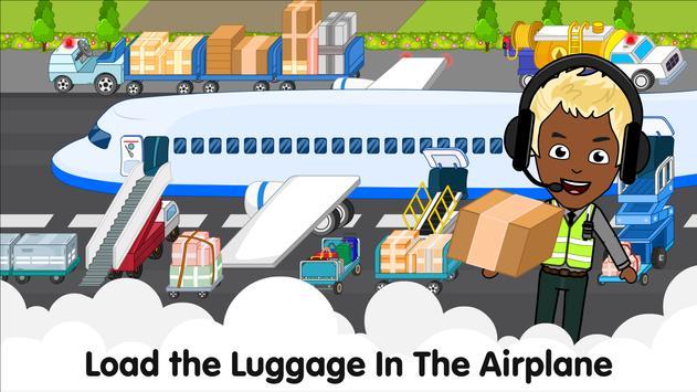 Aeropuerto de Tizi: Juegos de aviones para niños captura de pantalla 15