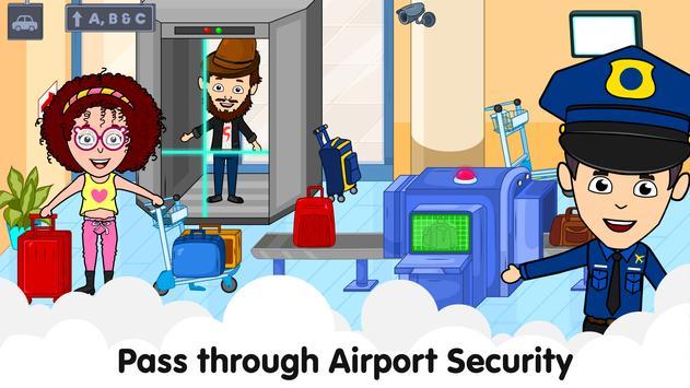 Aeropuerto de Tizi: Juegos de aviones para niños captura de pantalla 1