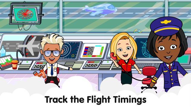 Aeropuerto de Tizi: Juegos de aviones para niños captura de pantalla 2