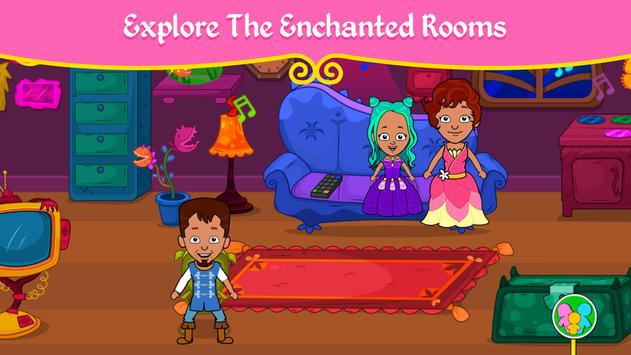 مدينة الأميرات - ألعاب بيت العرائس للأطفال تصوير الشاشة 4