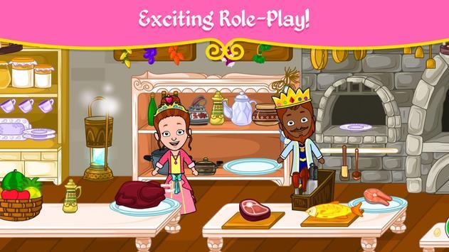 مدينة الأميرات - ألعاب بيت العرائس للأطفال تصوير الشاشة 5