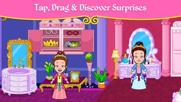مدينة الأميرات - ألعاب بيت العرائس للأطفال تصوير الشاشة 13