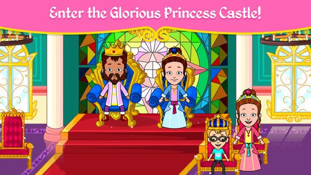 مدينة الأميرات - ألعاب بيت العرائس للأطفال تصوير الشاشة 14
