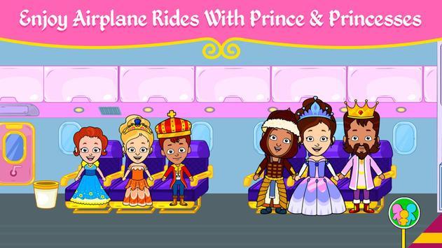 مدينة الأميرات - ألعاب بيت العرائس للأطفال تصوير الشاشة 1