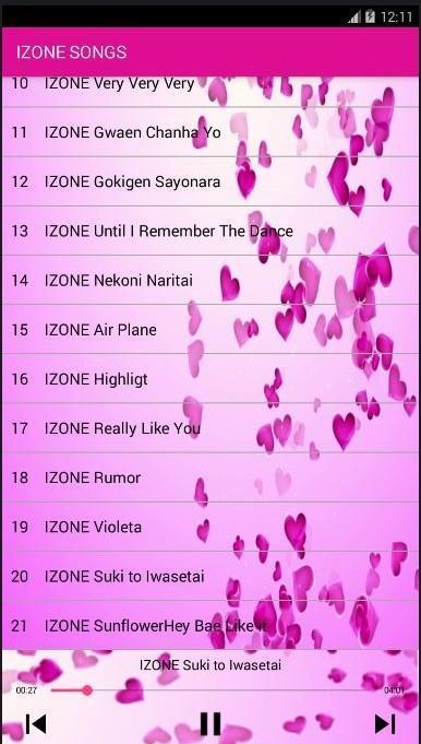 Izone Version Rumor