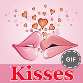 Kisses and Hugs GIF Collection icon