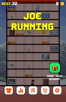 Joe Running poster