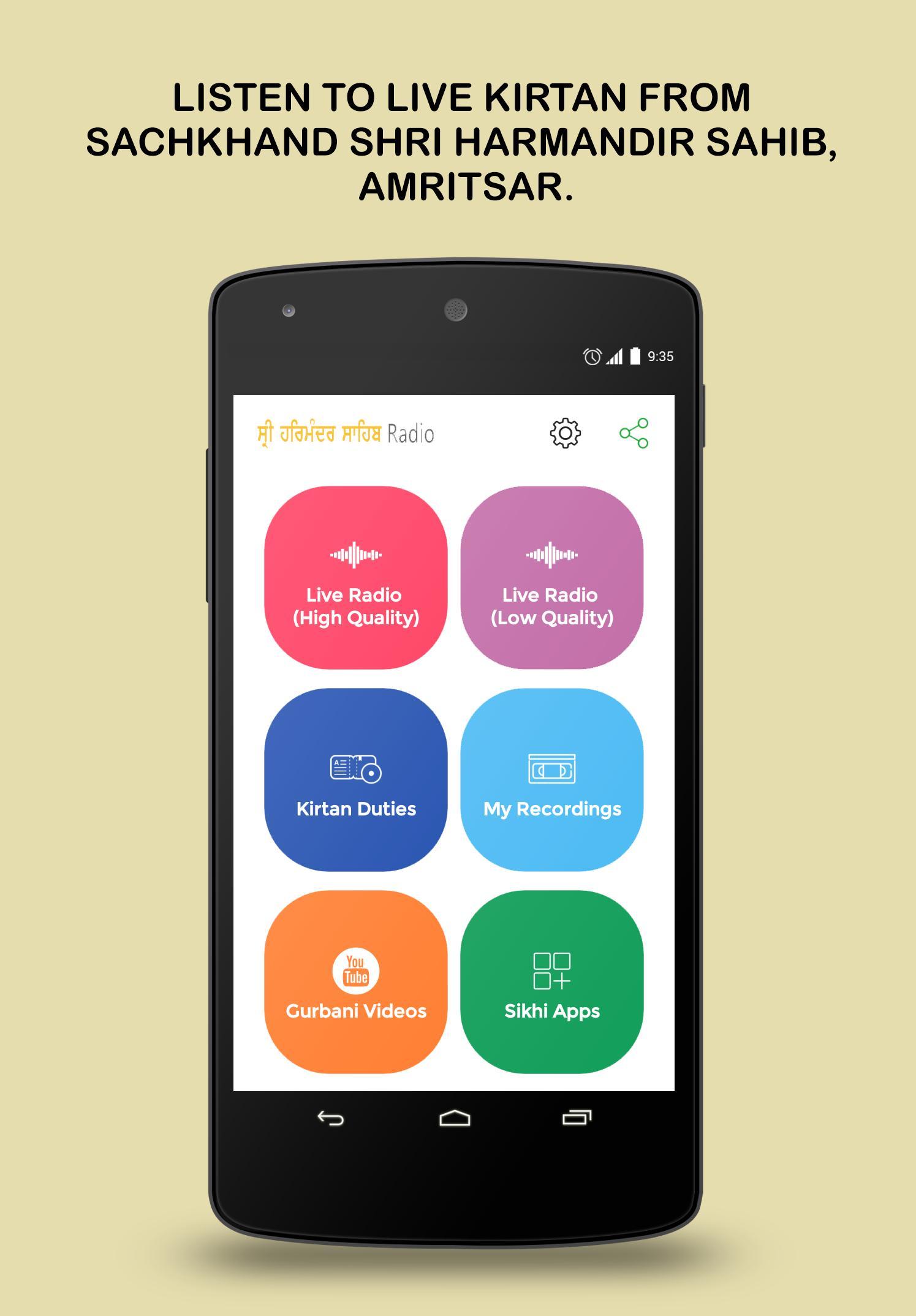 Harmandir Sahib Radio for Android - APK Download