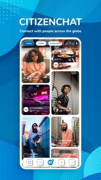 CitizenChat - Connect, Chat, Short Videos & Images gönderen