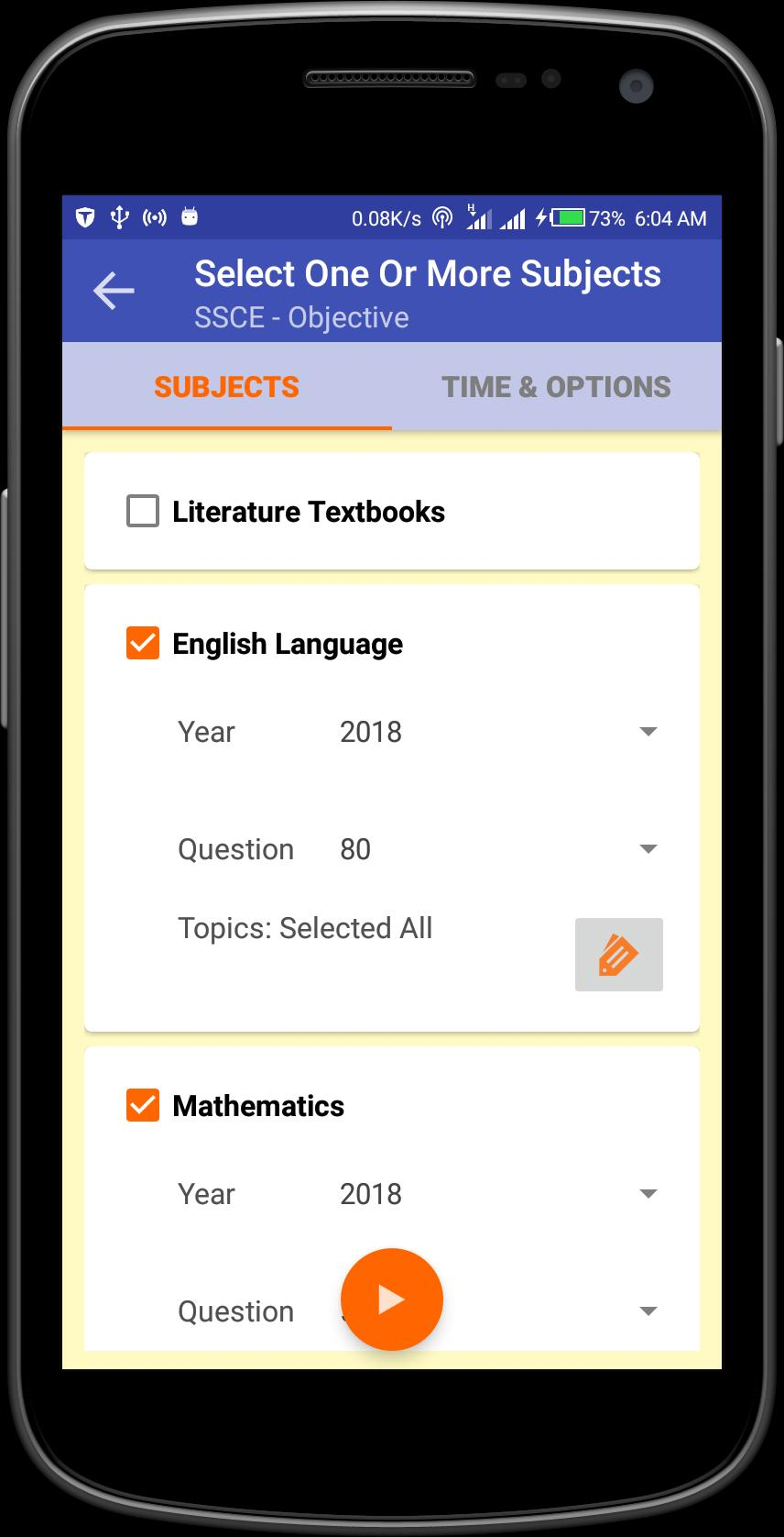 English Objective Questions 2018