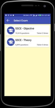 2019 WAEC SSCE APP (By TestDriller) screenshot 2
