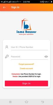 IAMO BAZAAR screenshot 1