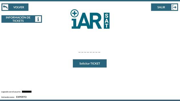 iAR SAT screenshot 2