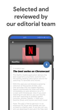 Apps for Chromecast screenshot 2